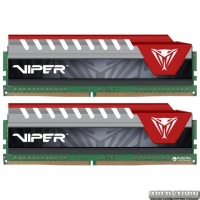 Оперативная память Patriot DDR4-2400 32768MB PC4-19200 (Kit of 2x16384) Viper Elite Series Red (PVE432G240C5KRD)
