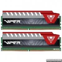 Оперативная память Patriot DDR4-2400 32768MB PC4-19200 (Kit of 2x16384) Viper Elite Series Red (PVE432G240C5KRD)