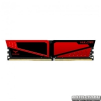 Модуль памяти DDR4 8GB/2666 Team T-Force Vulcan Red (TLRED48G2666HC15B01)