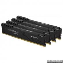Оперативная память HyperX DDR4-2400 16384MB PC4-19200 (Kit of 4x4096) Fury Black (HX424C15FB3K4/16)