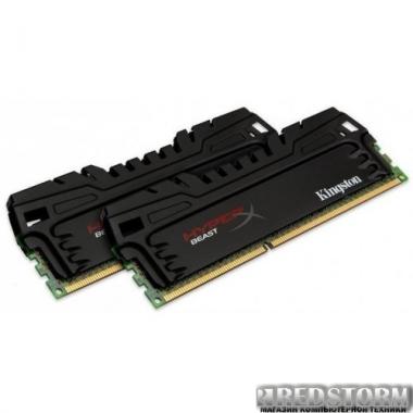 Память Kingston DDR3-1600 8192MB PC3-12800 (Kit of 2x4096) HyperX Beast (KHX16C9T3K2/8X)