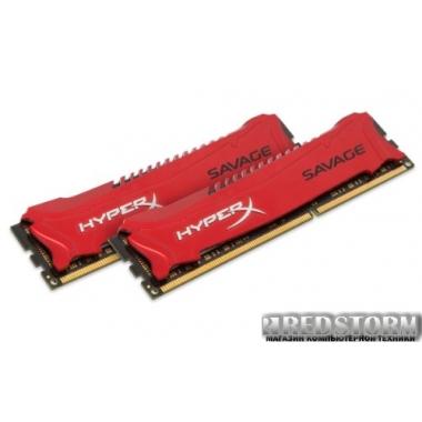 Память Kingston DDR3-2133 16384MB PC3-17000 (Kit of 2x8192) HyperX Savage (HX321C11SRK2/16)