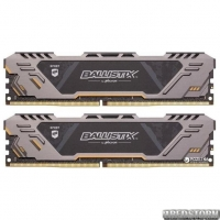 Оперативная память Crucial DDR4-3000 16384MB PC4-24000 (Kit of 2x8192) Ballistix Sport AT (BLS2C8G4D30CESTK)