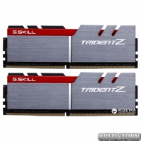 Оперативная память G.Skill DDR4-3400 32768MB PC4-27200 (Kit of 2x16384) Trident Z Red (F4-3400C16D-32GTZ)
