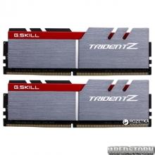 Оперативная память G.Skill DDR4-3400 32768MB PC4-27200 (Kit of 2x16384) Trident Z Red (F4-3400C16D-32GTZ)