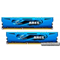 G.Skill DDR3-2400 16384MB PC3-19200 (Kit of 2x8192) Ares LP Series Blue ( F3-2400C11D-16GAB)