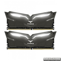 Оперативная память Team T-Force NightHawk DDR4-3000 16384MB PC-24000 Kit of 2x8192 White LED (THWD416G3000HC16CDC01)