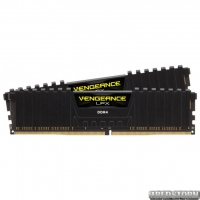 Оперативная память Corsair DDR4-2400 32768MB PC4-19200 (Kit of 2x16384) Vengeance LPX Black (CMK32GX4M2Z2400C16)