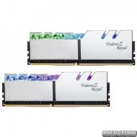 Оперативная память G.Skill DDR4-3600 16384MB PC4-28800 (Kit of 2x8192) Trident Z Royal Silver (F4-3600C18D-16GTRS)