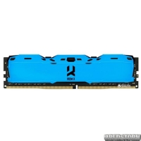 Оперативная память Goodram DDR4-3000 8192MB PC4-24000 IRDM X Blue (IR-XB3000D464L16S/8G)