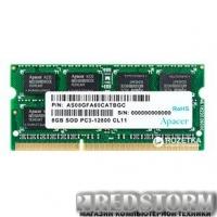 Оперативная память Apacer SODIMM DDR3-1600 8192MB PC3-12800 (DS.08G2K.KAM)