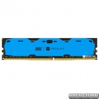Оперативная память Goodram DDR4-2400 4096MB PC4-19200 IRDM Blue (IR-B2400D464L15S/4G)