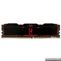 Оперативная память Goodram DDR4-3000 8192MB PC4-24000 IRDM X Black (IR-X3000D464L16S/8G)