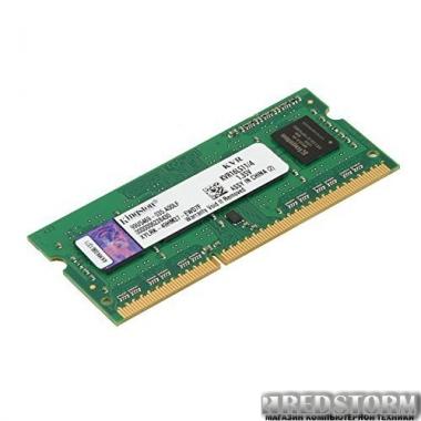 Память Kingston SODIMM DDR3L-1600 4096MB PC3L-12800 (KVR16LS11/4