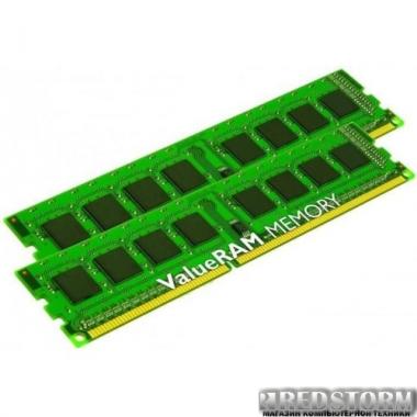Память Kingston DDR3-1600 8192MB PC3-12800 (Kit of 2x4096) ValueRAM (KVR16N11S8K2/8)