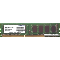 Patriot DDR3-1333 8192MB PC3-10600 Signature Line (PSD38G13332)