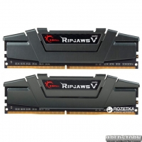 Оперативная память G.Skill DDR4-2800 16384MB PC4-22400 (Kit of 2x8192) Ripjaws V Grey (F4-2800C16D-16GVG)