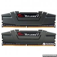 Оперативная память G.Skill DDR4-2800 16384MB PC4-22400 (Kit of 2x8192) Ripjaws V Grey (F4-2800C16D-16GVG)