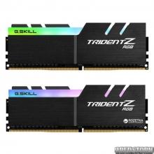 Оперативная память G.Skill DDR4-3000 16384MB PC4-24000 (Kit of 2x8192) Trident Z RGB (F4-3000C14D-16GTZR)