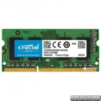 Оперативная память Crucial SODIMM DDR3L-1600 16384MB PC3L-12800 (CT204864BF160B)