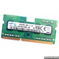 Оперативная память для ноутбука Samsung SODIMM DDR3L 4Gb 1600MHz 12800s CL11 (M471B5173EB0-YK0) Б/У