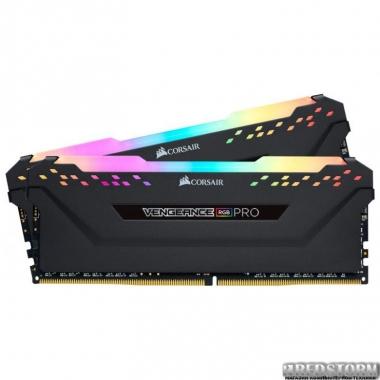 Память Оперативная память Corsair DDR4-3000 16384MB PC4-24000 (Kit of 2x8192) Vengeance RGB Pro Black (CMW16GX4M2C3000C15)