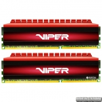 Оперативная память Patriot DDR4-3000 16384MB PC4-24000 (Kit of 2x8192) Viper 4 Series Red (PV416G300C6K)