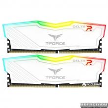 Оперативная память Team T-Force Delta DDR4-2666 8192MB PC-21300 (Kit of 2x4096) White RGB LED (TF4D48G2666HC15BDC01)