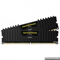 Оперативная память Corsair DDR4-2400 8192MB PC4-19200 (Kit of 2x4096) Vengeance LPX (CMK8GX4M2A2400C16) Black