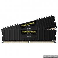 Оперативная память Corsair DDR4-2400 8192MB PC4-19200 (Kit of 2x4096) Vengeance LPX (CMK8GX4M2A2400C16) Black