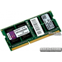 Kingston SODIMM DDR3-1333 8192MB PC3-10600 (KVR1333D3S9/8G)