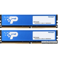 Patriot DDR4-2400 8192MB PC4-19200 (Kit of 2x4096) Signature Line (PSD48G2400KH)