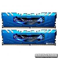 Оперативная память G.Skill DDR4-3000 16384MB PC4-24000 (Kit of 2x8192) Ripjaws 4 (F4-3000C15D-16GRBB)