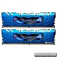 Оперативная память G.Skill DDR4-3000 16384MB PC4-24000 (Kit of 2x8192) Ripjaws 4 (F4-3000C15D-16GRBB)