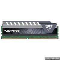 Оперативная память Patriot DDR4-2666 8192MB PC4-21300 Viper Elite Series Gray (PVE48G266C6GY)