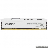 Оперативная память HyperX DDR4-2666 16384MB PC4-21300 Fury White (HX426C16FW/16)