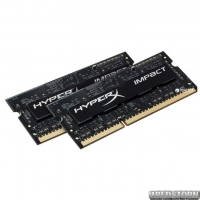 Оперативная память HyperX SODIMM DDR3L-1866 8192 MB PC3-14900 (Kit of 2x4096) Impact (HX318LS11IBK2/8)