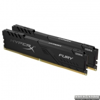 Оперативная память HyperX DDR4-2400 16384MB PC4-19200 (Kit of 2x8192) Fury Black (HX424C15FB3K2/16)