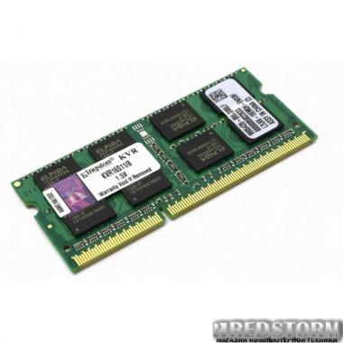 Память Kingston SODIMM DDR3-1600 8192MB PC3-12800 (KVR16S11/8)