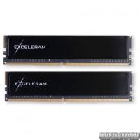 Модуль памяти для компьютера DDR4 32GB 2x16GB 2400 MHz Black Sark eXceleram (ED432247AD)