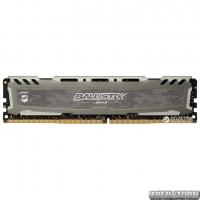 Оперативная память Crucial DDR4-2400 8192MB PC4-19200 Ballistix Sport LT Gray (BLS8G4D240FSBK)