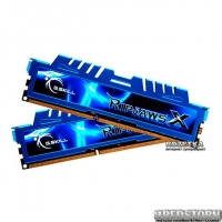 Оперативная память G.Skill DDR3-2133 8192MB PC3-17000 (Kit of 2x4096) Ripjaws X Series (F3-2133C10D-8GXM)