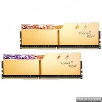 Оперативная память G.Skill DDR4-3000 16384MB PC4-24000 (Kit of 2x8192) Trident Z Royal Gold (F4-3000C16D-16GTRG)
