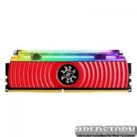 МОДУЛЬ ПАМЯТИ ДЛЯ КОМПЬЮТЕРА DDR4 8GB 4133 MHZ XPG SPECTRIX D80 RED ADATA (AX4U413338G19-SR80)