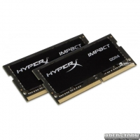 Оперативная память HyperX SODIMM DDR4-2666 32768MB PC4-21300 (Kit of 2x16384) Impact (HX426S15IB2K2/32)