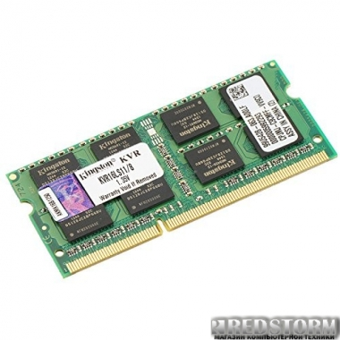 Память Kingston SODIMM DDR3L-1600 8192MB PC3L-12800 (KVR16LS11/8)