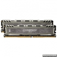 Оперативная память Crucial DDR4-3000 32768MB PC4-24000 (Kit of 2x16384) Ballistix Sport LT Grey (BLS2K16G4D30AESB)
