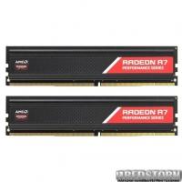 Оперативная память AMD DDR4-2666 8192MB PC4-21300 (Kit of 2x4096) R7 Performance Series (R7S48G2606U1K)