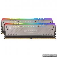 Оперативная память Crucial DDR4-3000 16384MB PC4-24000 (Kit of 2x8192) Ballistix Tactical Tracer RGB (BLT2K8G4D30BET4K)
