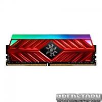 МОДУЛЬ ПАМЯТИ ДЛЯ КОМПЬЮТЕРА DDR4 8GB 4133 MHZ XPG SPECTRIX D41 RED ADATA (AX4U413338G19-SR41)